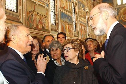 Giuseppe Basile con Ciampi